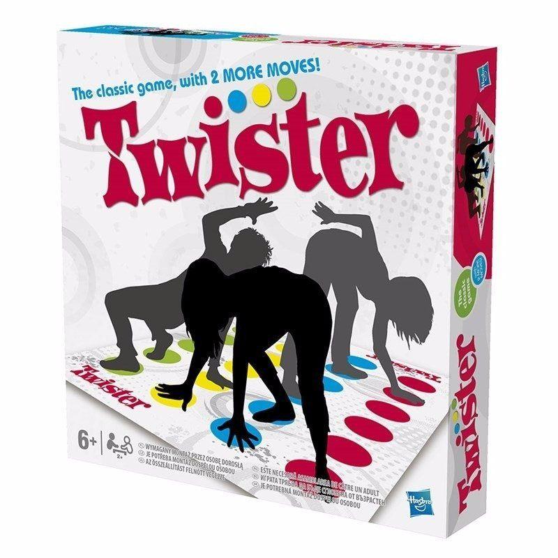 Jogo Twister ( Com Novos Movimentos ) - Hasbro