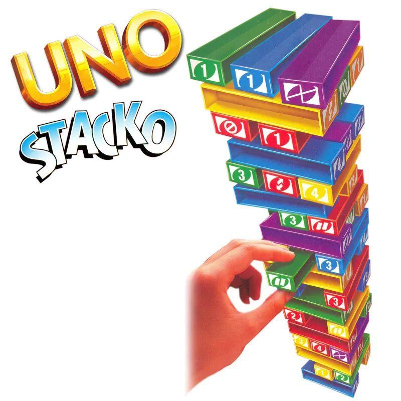 Jogo Uno Stacko - Mattel