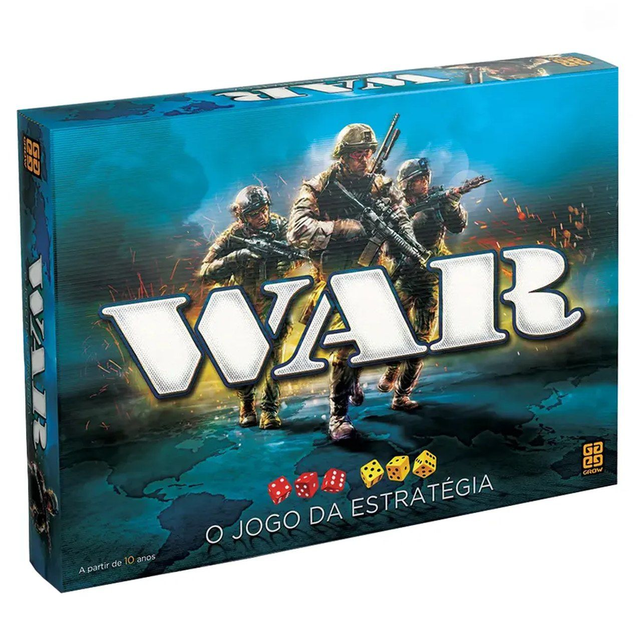 Jogo War (Board Games) - Grow