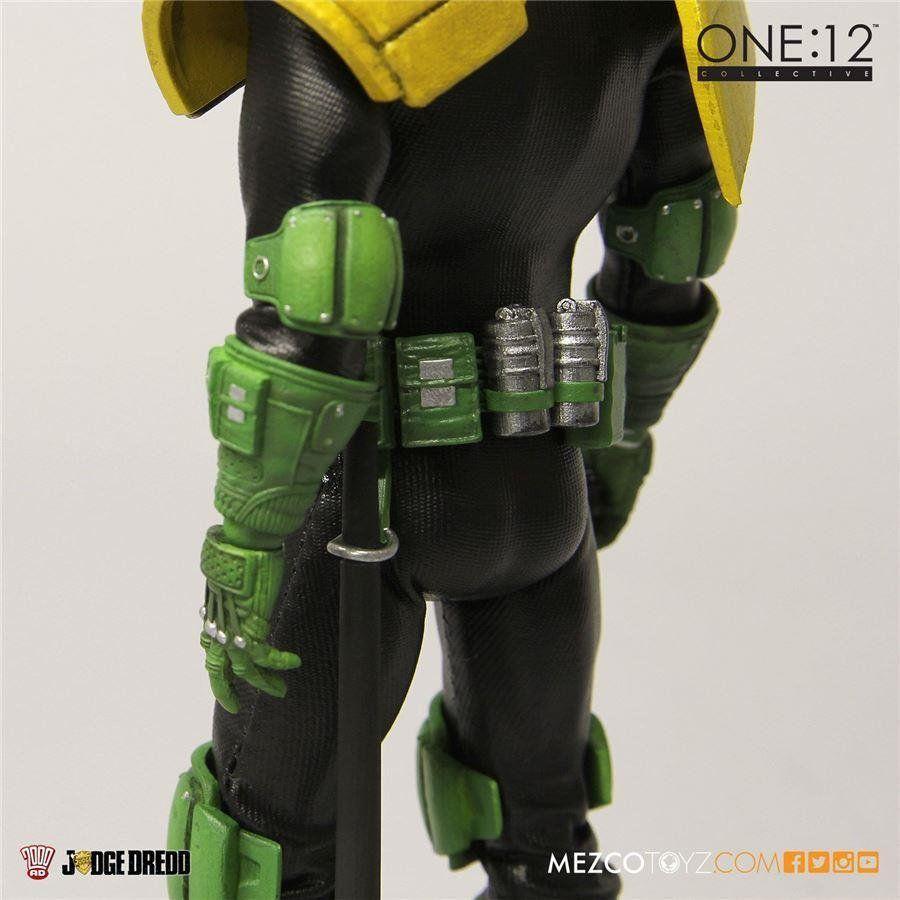 Judge Dredd Escala 1/12 - Mezco