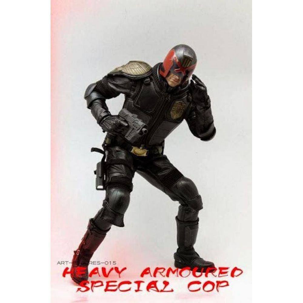 Juiz Dredd Heavy Armored Special Cop 1:6 - Art Figures