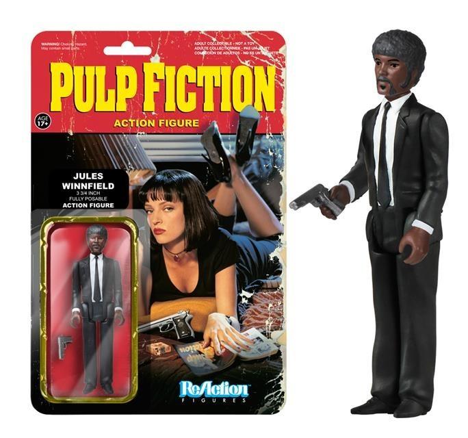Jules Winnfield Pulp Fiction - ReAction Figures