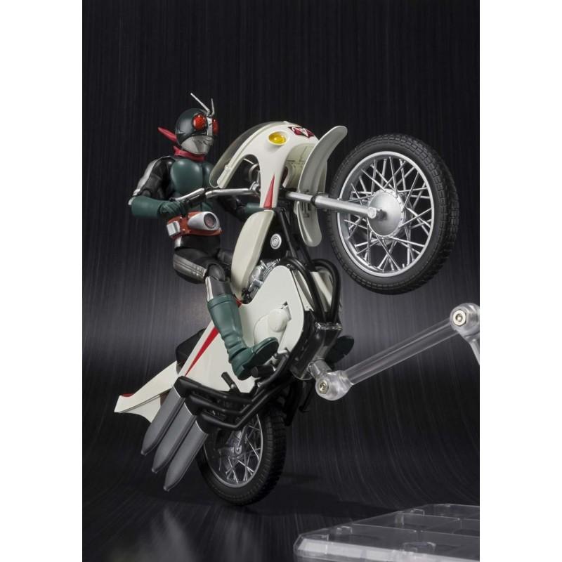 Kamen Rider Old V2 e Cyclone Remodeling S.H.Figuarts - Bandai ( Produto Avariado )