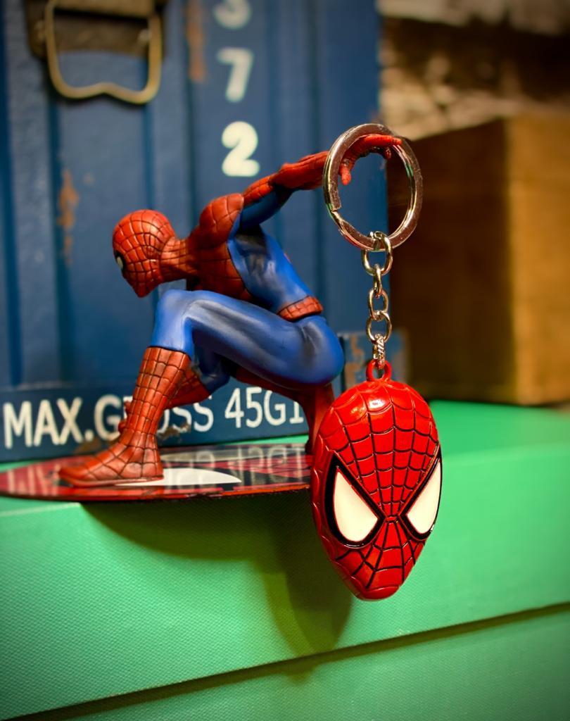 Keychains (Chaveiro) Cabeça Homem-Aranha (Spider-Man): Marvel - Monogram