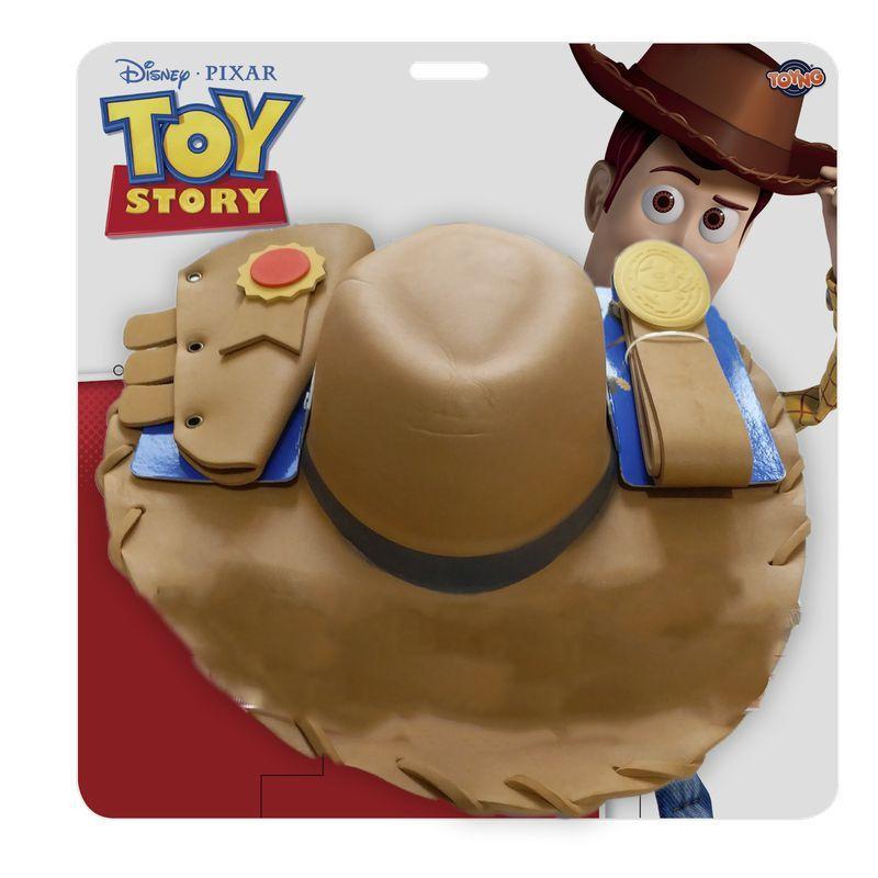 Kit Acessórios Woody (Chapéu e Cinto): Toy Story - Toyng