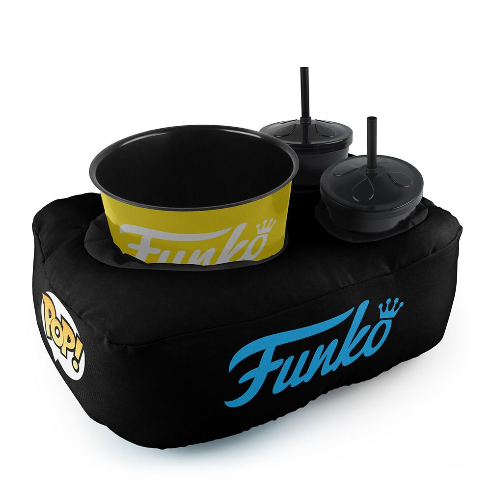 Funko Kit Almofada Porta Pipoca Logo Funko (2 Copos)