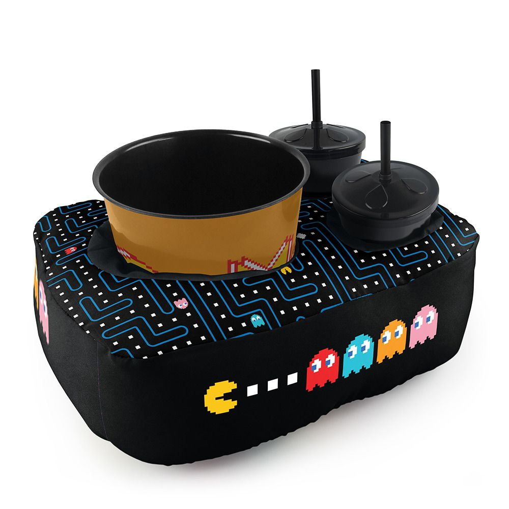 Kit Almofada Porta Pipoca: Pac-Man (2 Copos)