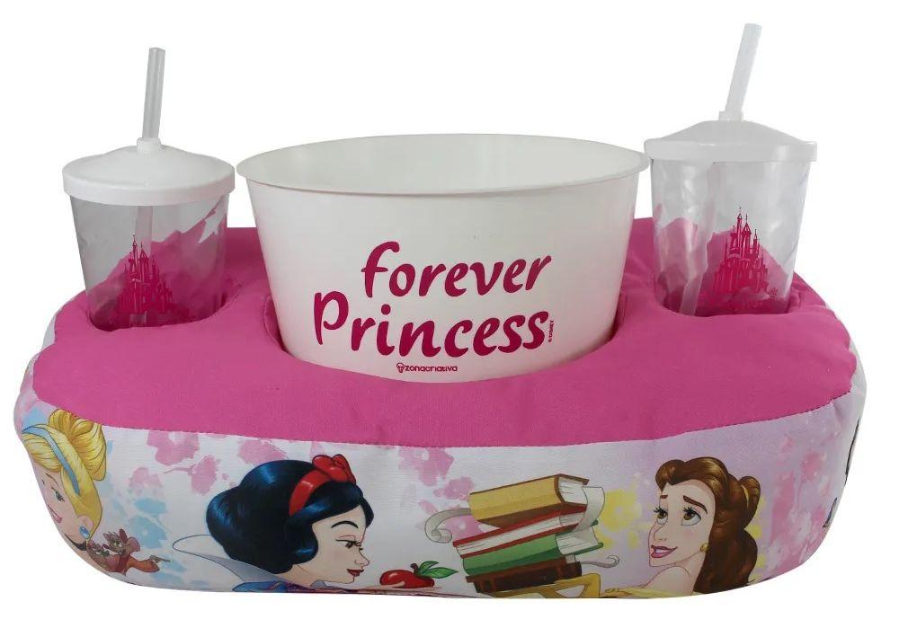 Kit Almofada Porta Pipoca: Princesas (Disney)