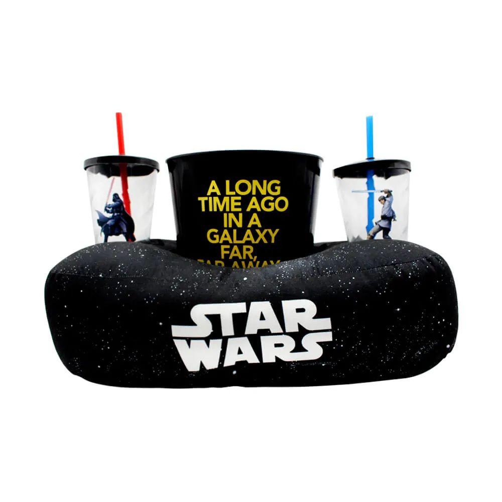 Kit Almofada Porta Pipoca: Star Wars