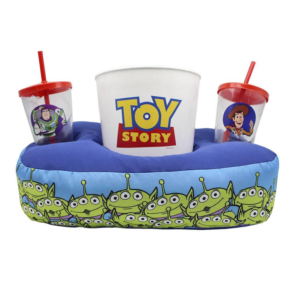 Kit Almofada Porta Pipoca: Toy Story (Disney)