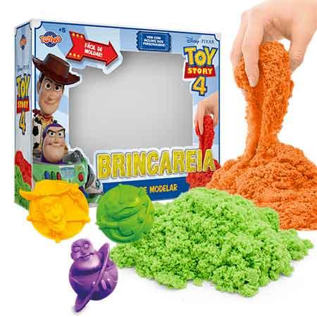 Kit Grande Areia Para Brincar (Com Moldes): Toy Story 4 - Toyng