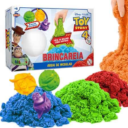 Kit Areia Para Brincar (Com Moldes): Toy Story 4 - Toyng