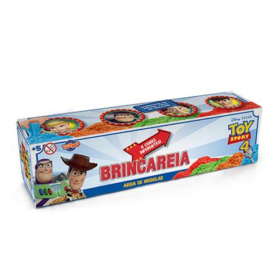 Kit Areia Para Brincar: Toy Story (4 Potes) - Toyng