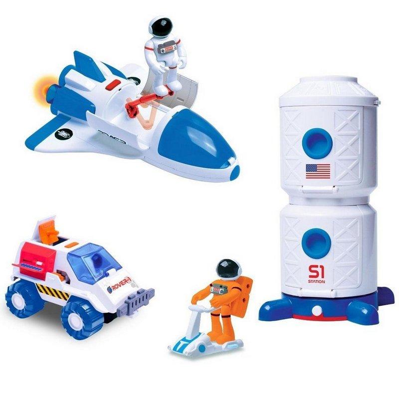 Kit Astronautas: Astronautas Exploradores do Espaço (Com luz e Sons)