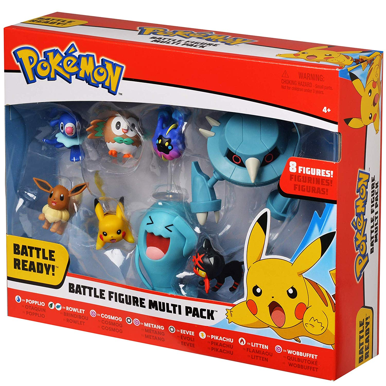Kit Bonecos Pokémon (Kit com 8) - DTC