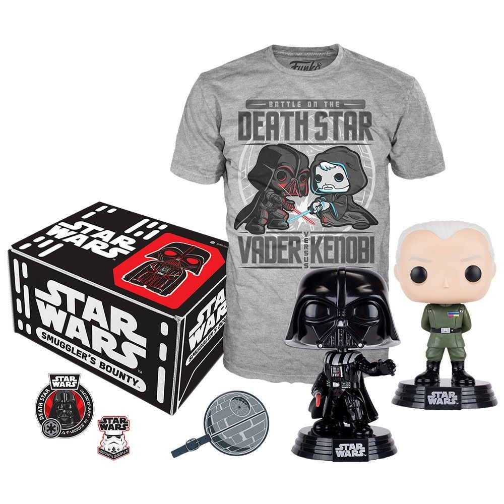 Funko Kit Box Colecionável Exclusivo Pop! Funko Smuggler´s Bouty: Star Wars Tema  Death Star - Funko