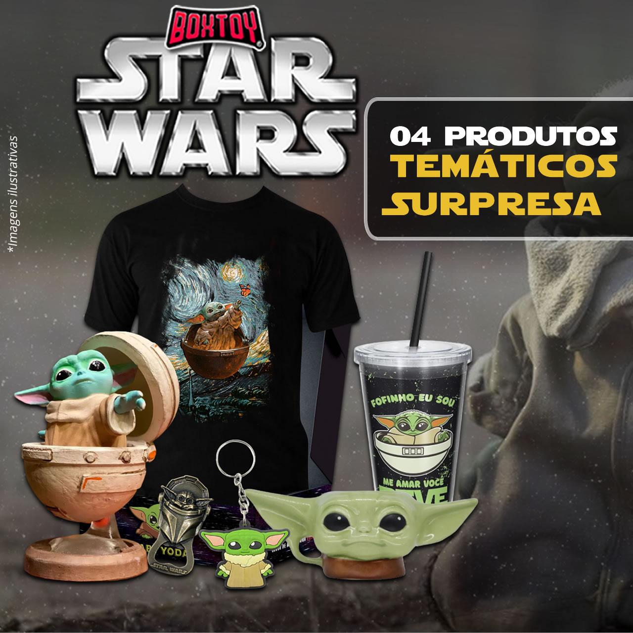Kit BoxToy Edição Baby Yoda Grogu The Child O Mandaloriano The Mandalorian: Disney +
