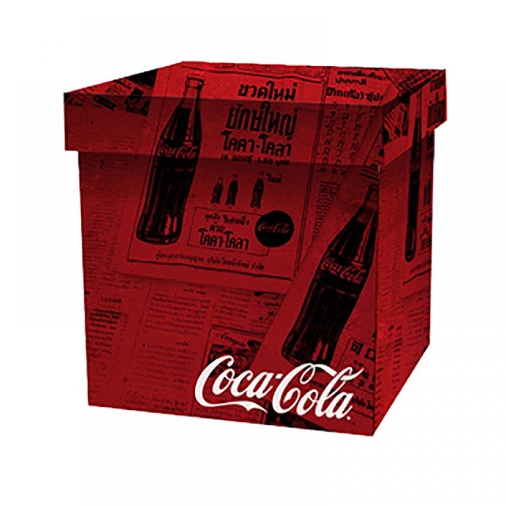 Caixa Organizadoras Coca Cola ''Jornal'' 35x35 - Metropole