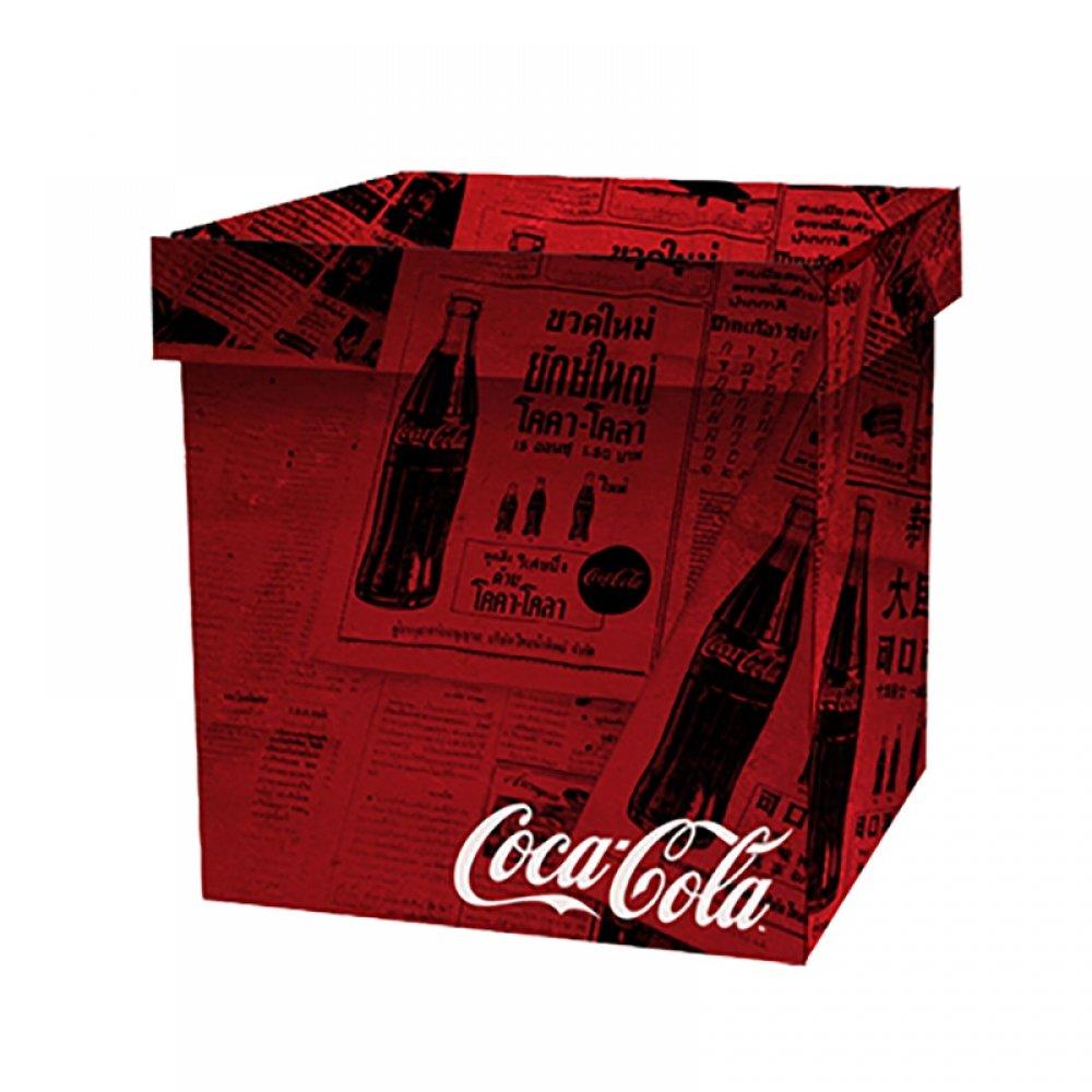 Caixa Organizadoras Coca Cola ''Jornal'' 40x40 - Metropole