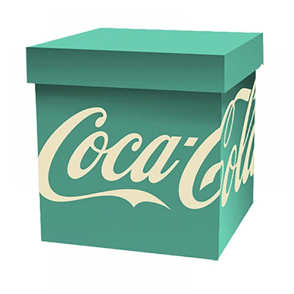 Caixa Organizadoras Coca Cola Verde 40x40 - Metropole
