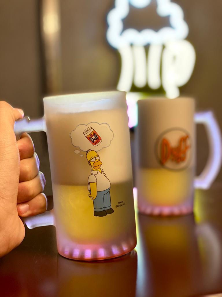 Kit Caneca de Chopp Duff Homer: The Simpsons - 450ml - EV
