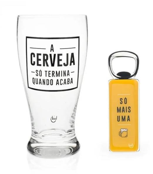 Kit Cerveja (Tulipa e Abridor):