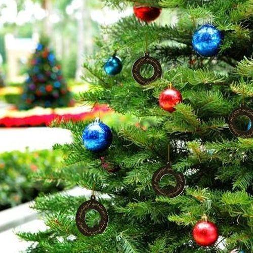 Kit Com 4 Enfeites Árvore de Natal Geek Senhor Dos Anéis
