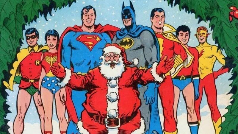 Kit Com 5 Enfeites Árvore de Natal Geek DC Comics