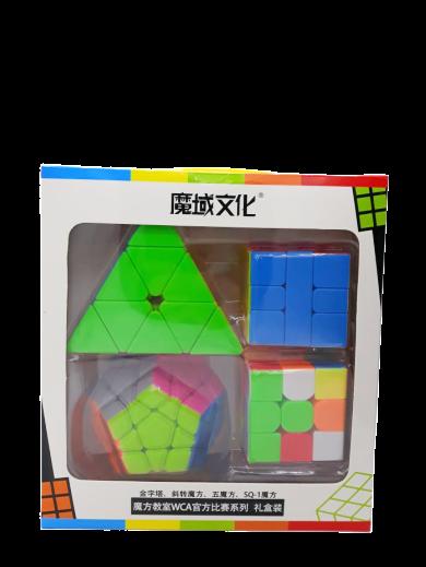 Kit Cubo Mágico (4 Modelos) - Series Cube Match Special (MF9305) Fidget