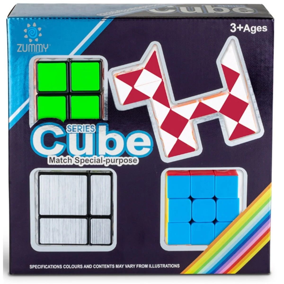 Kit Cubo Mágico (4 Modelos) - Series Cube Match Special-Purpose