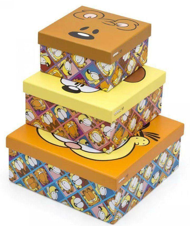 Kit de Caixas Garfield