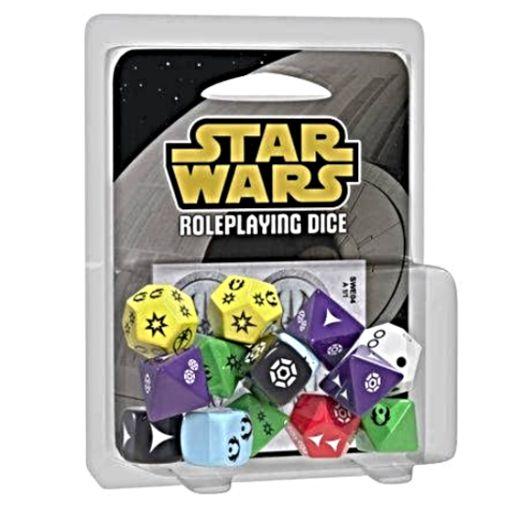 Kit de Dados - Board Games - Boardgames (Acessórios) Star Wars RPG - Galápagos Jogos
