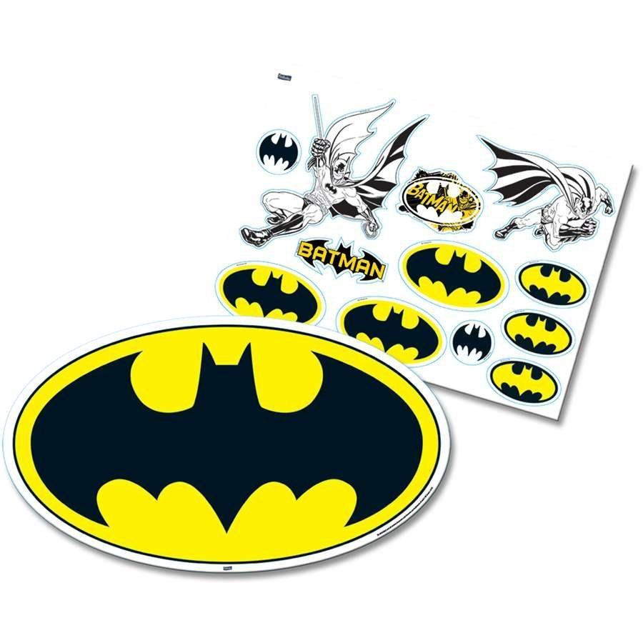 Kit Decorativo Batman Geek - Festcolor