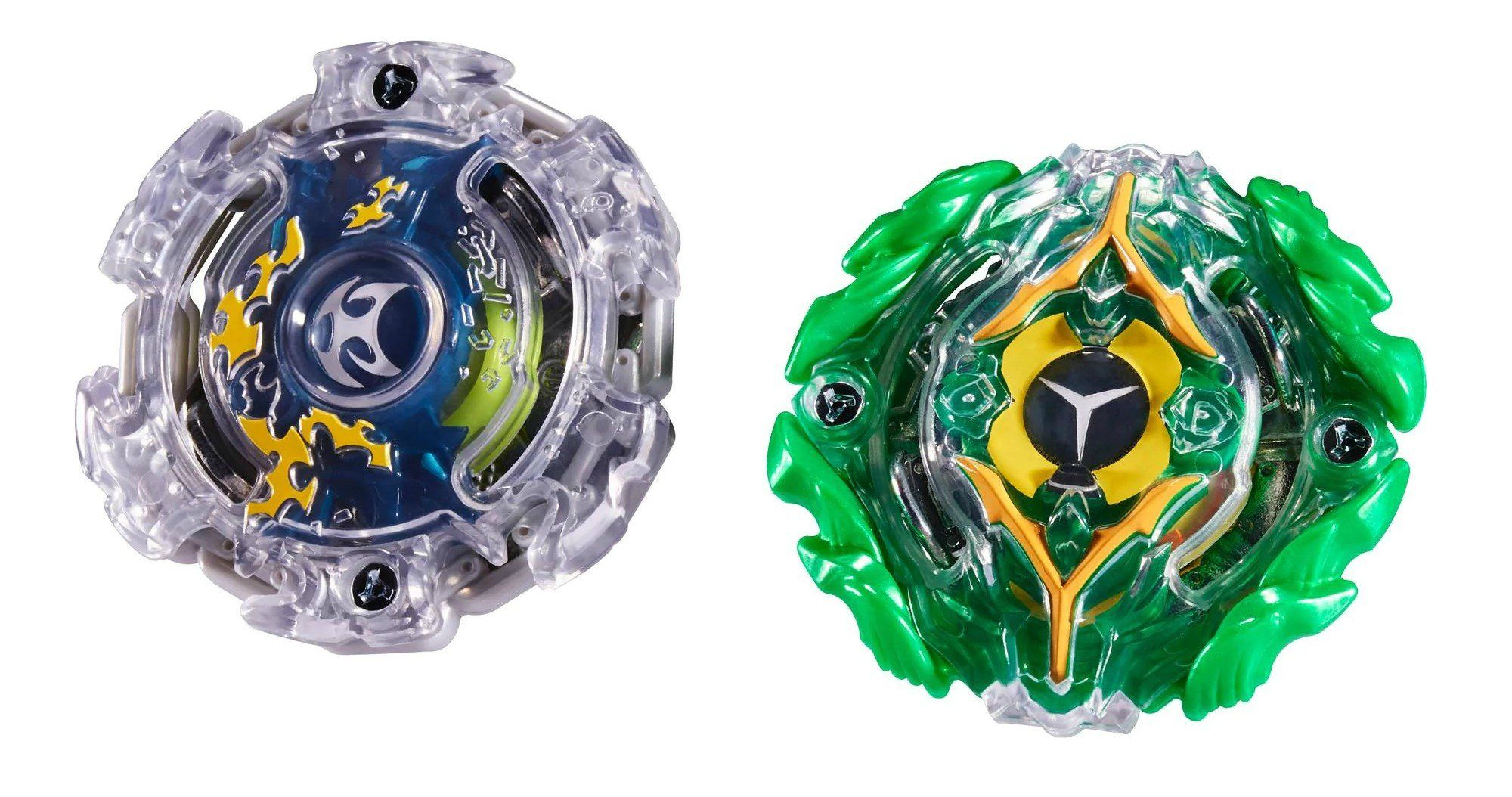 Kit Duplo Beyblade Burst: Kerbeus K2 & Yegdrion Y2 - Hasbro
