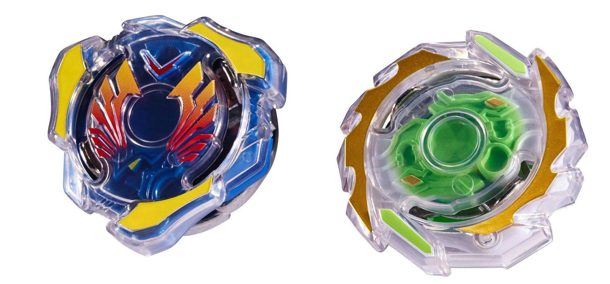 Kit Duplo Beyblade Burst: Valtryek & Unicrest - Hasbro