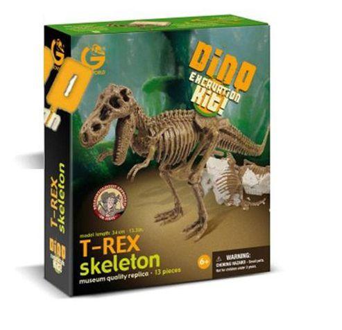 Kit Escavação Dinossauro T-Rex - Geoworld