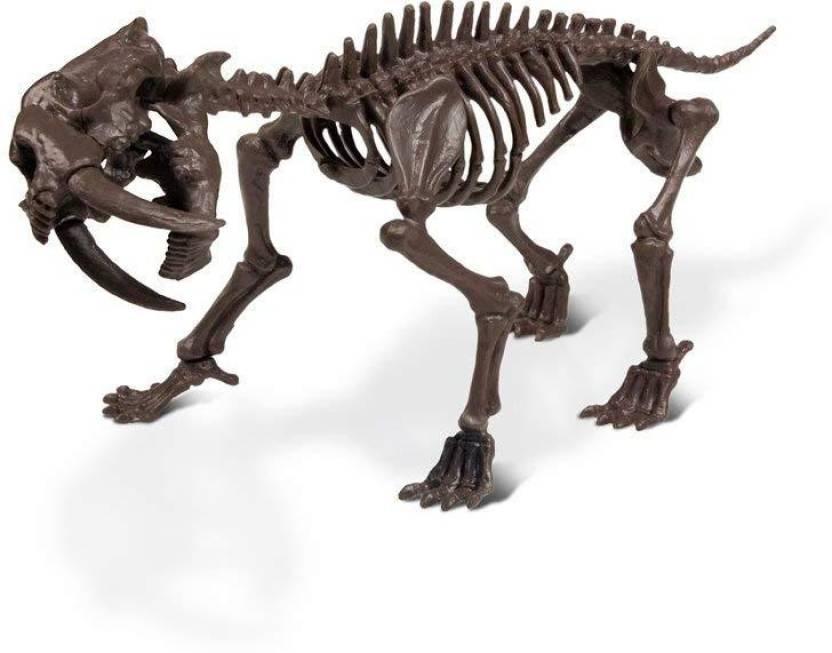 Kit Escavação Tigre Dente de Sabre (Era do Gelo) - Geoworld