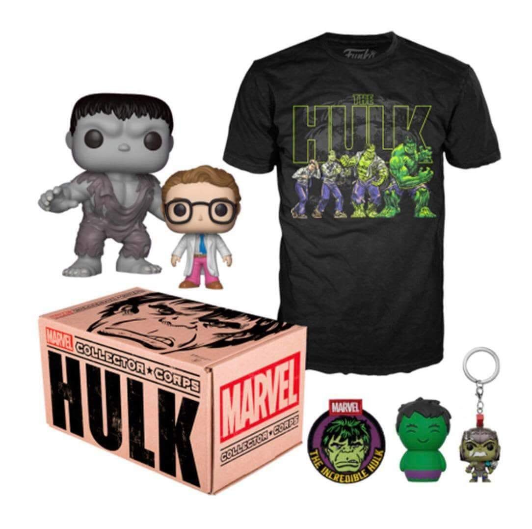 Funko Kit Exclusivo Pop! Funko: Collector Corps: Hulk - Funko