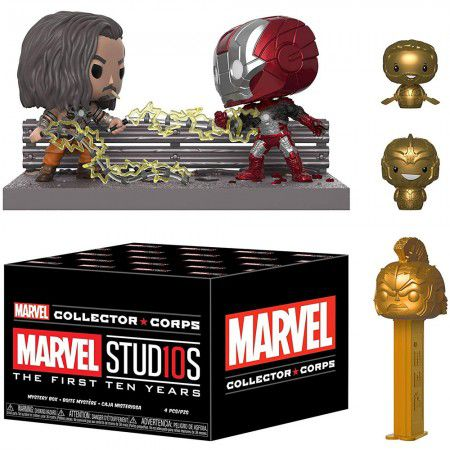 Funko Kit Exclusivo Pop! Funko Collector Corps Marvel: Marvel Studios The First Ten Years - Funko