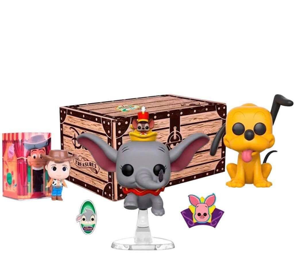 Kit Exclusivo Pop Funko: Disney Treasures: Festival of Firends - Funko