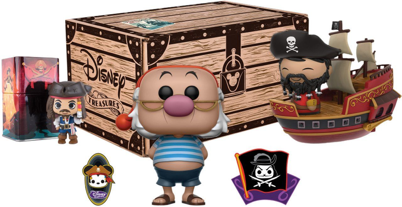 Kit Exclusivo Pop Funko: Disney Treasures: Pirates Cove - Funko
