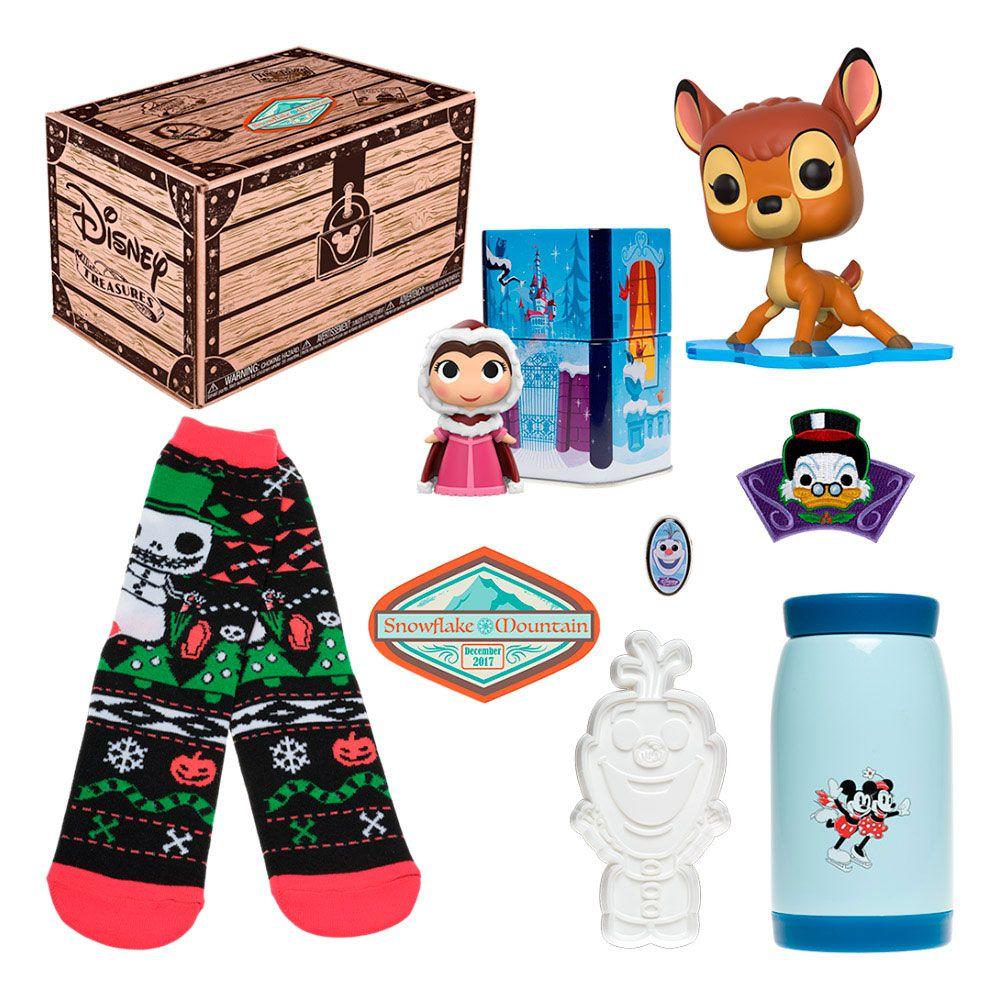 Kit Exclusivo Pop! Funko Disney Treasures: Snowflake Mountain - Funko