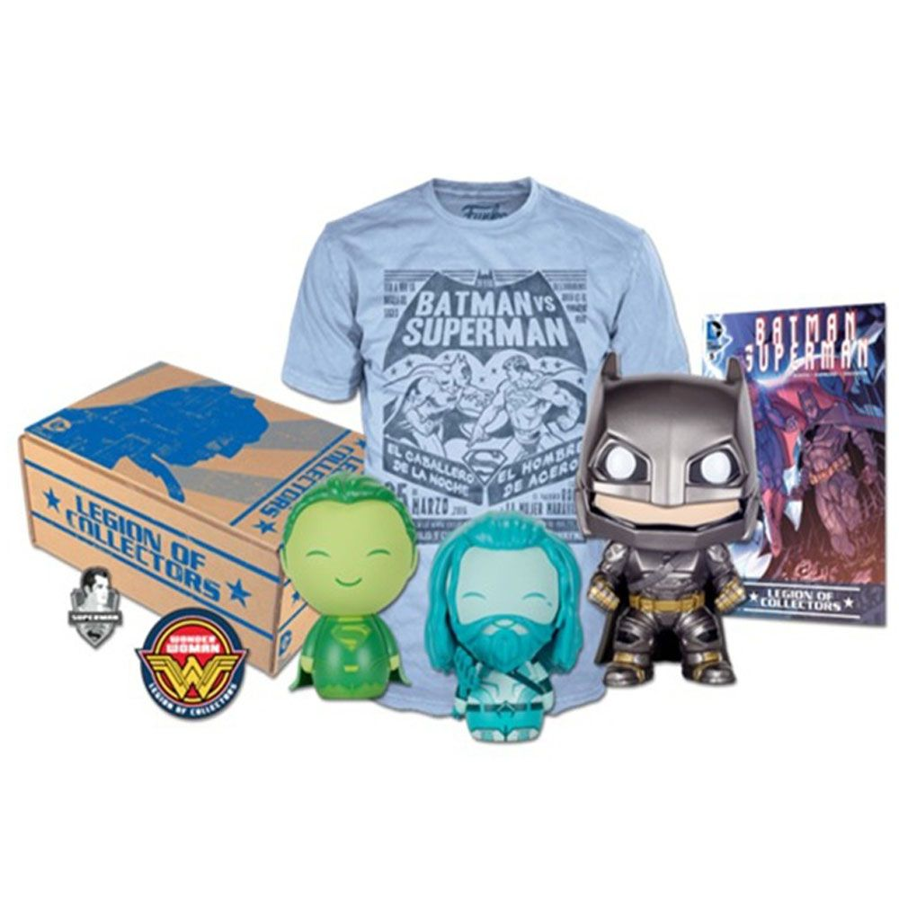 Funko Kit Exclusivo Pop! Funko: Legion of Collectors: Batman Vs Superman - Funko
