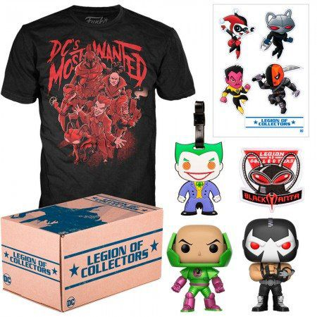 Kit Exclusivo Pop! Funko: Legion of Collectors: DC Most Wanted - Funko