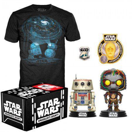 Funko Kit Exclusivo Pop! Funko Smuggler´s Bouty Star Wars: Droids - Funko