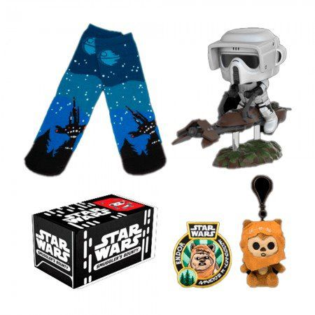 Kit Exclusivo Pop Funko: Smuggler´s Bouty Star Wars: Endor - Funko