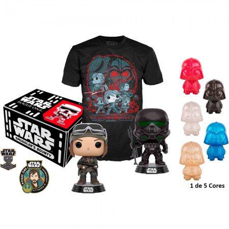 Kit Exclusivo Pop! Funko Smuggler´s Bouty Star Wars: Rogue One - Funko