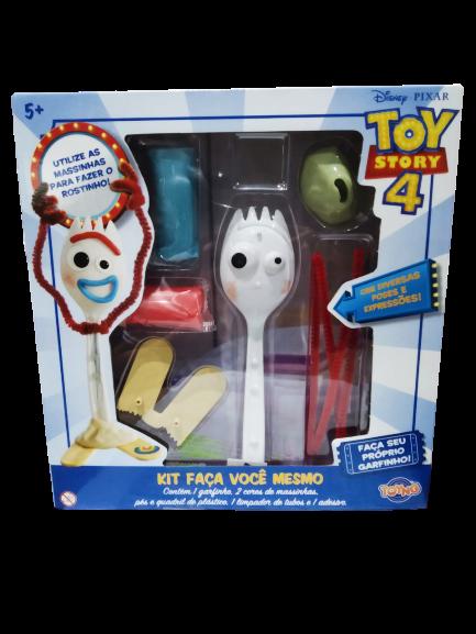 Kit Faça Você Mesmo: Garfinho (Forky): Toy Story 4 - Toyng