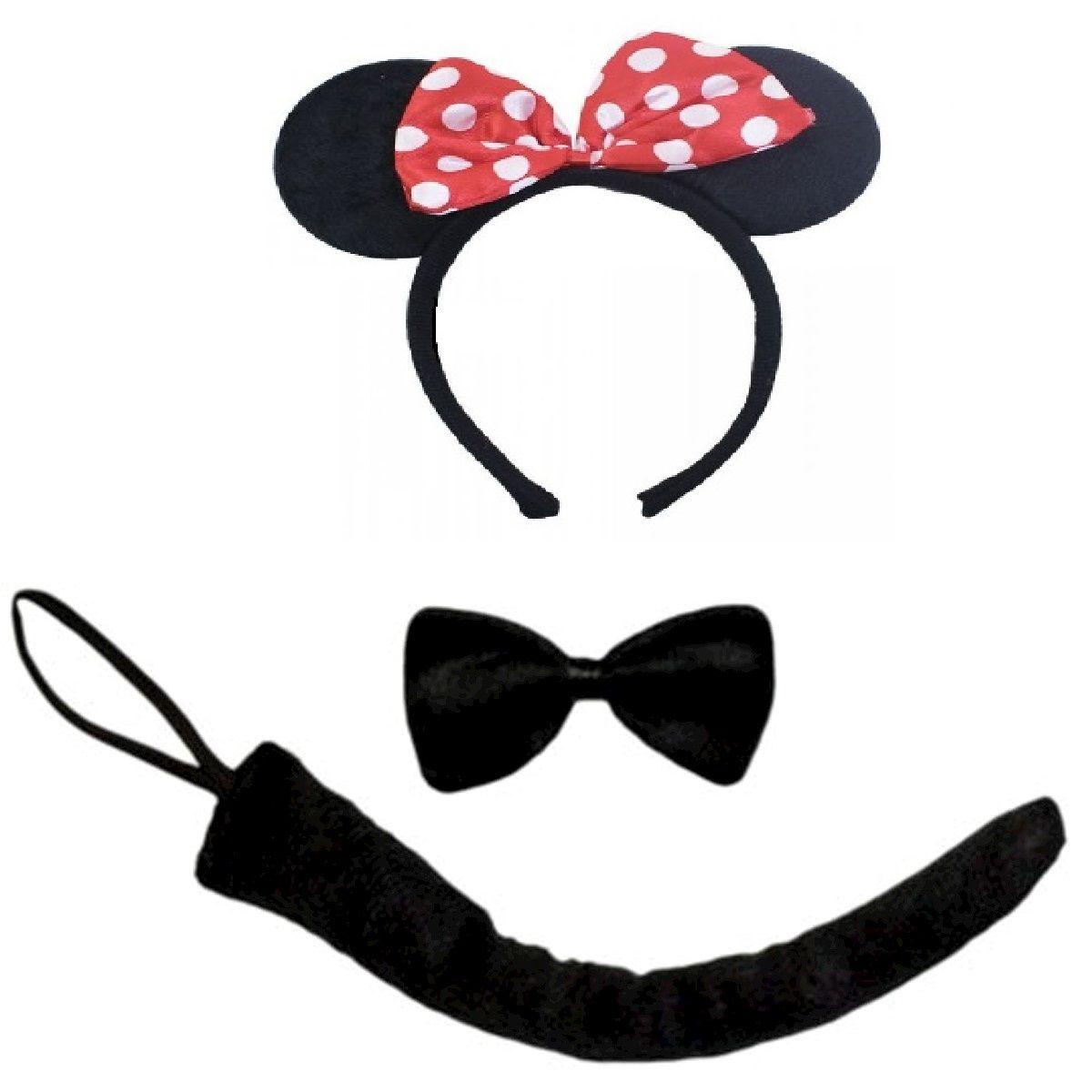 Kit Fantasia Minnie Mouse: Disney (Acessórios Fantasia)