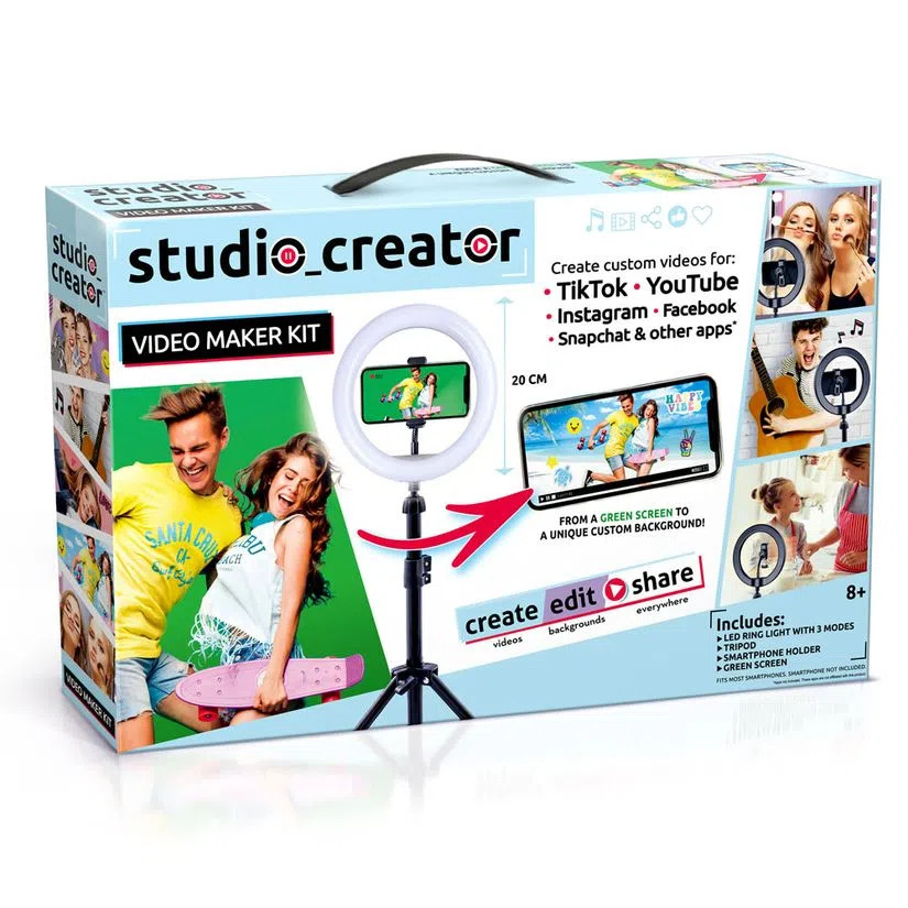 Kit Influencer Studio Creator - Fun